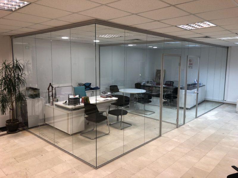 Ofis Bölme İhtiyaçlarınıza Cam Bölme Sistemleri